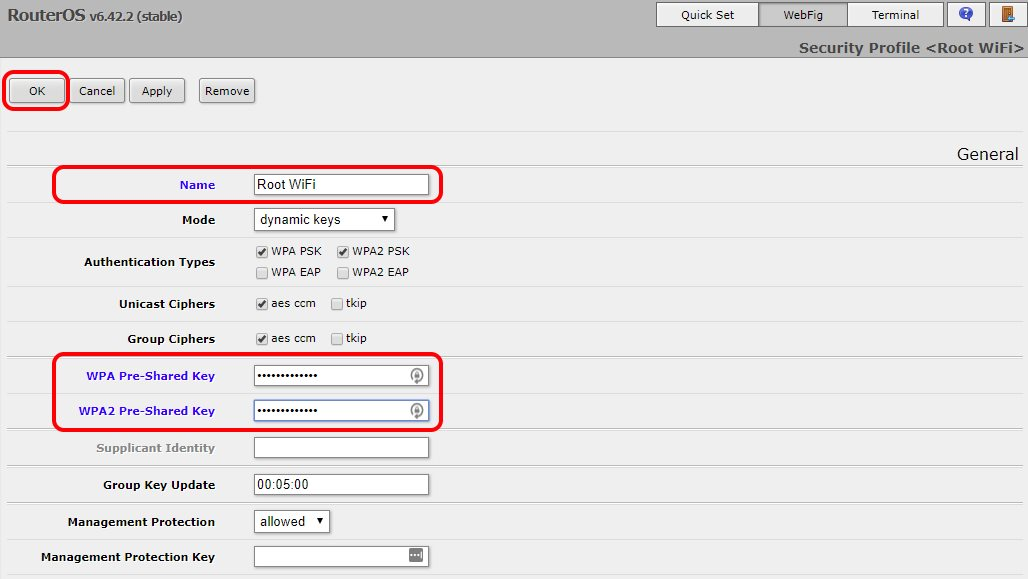 Connect MikroTik router to a WiFi access point and serve